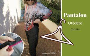 pantalon fuseau ottobre 2014