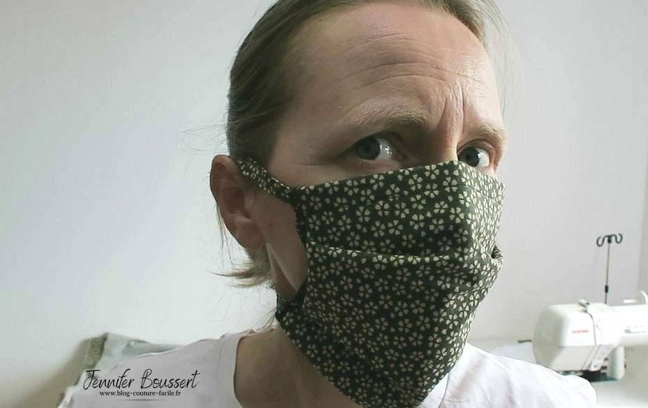 masque chirurgical en tissu