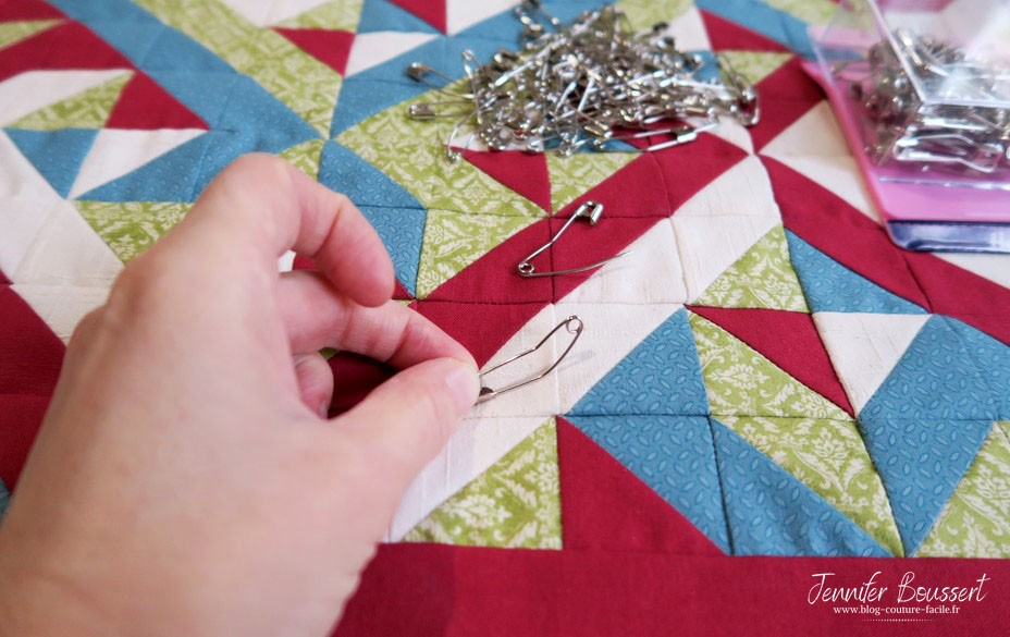 epingle pour quilter