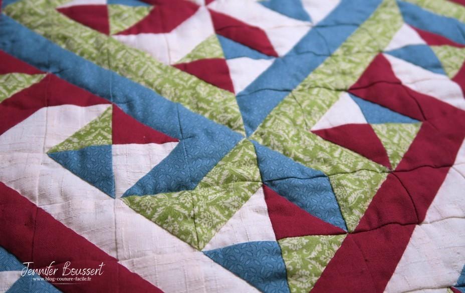 patchwork sans quilting