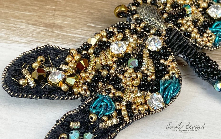 broderie haute couture perle