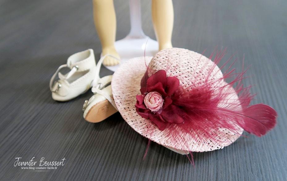 chapeau chaussures bleuette
