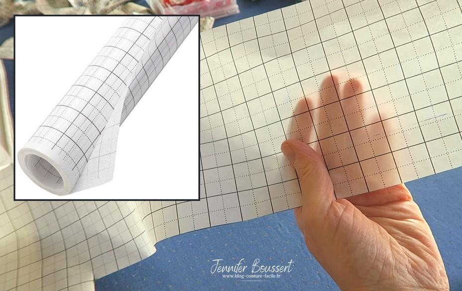 papier couture quadrille