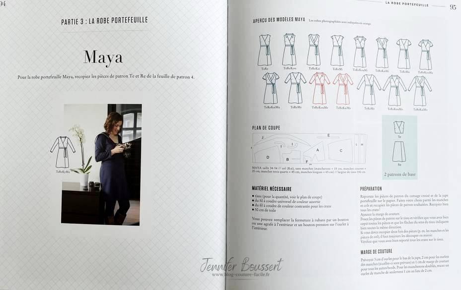modèles de robe maya