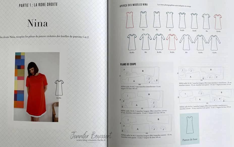 modeles de robe nina