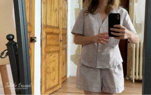pyjama court femme burda 6742