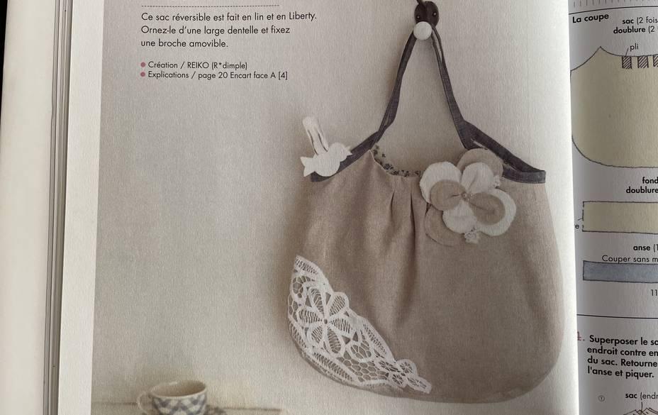 sac a plis dentelle