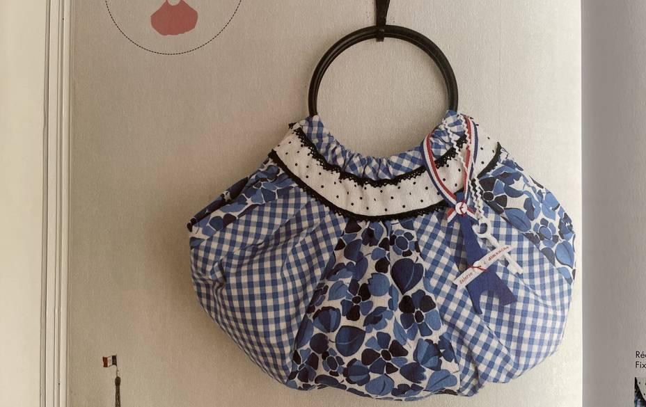 sac ballon style patchwork