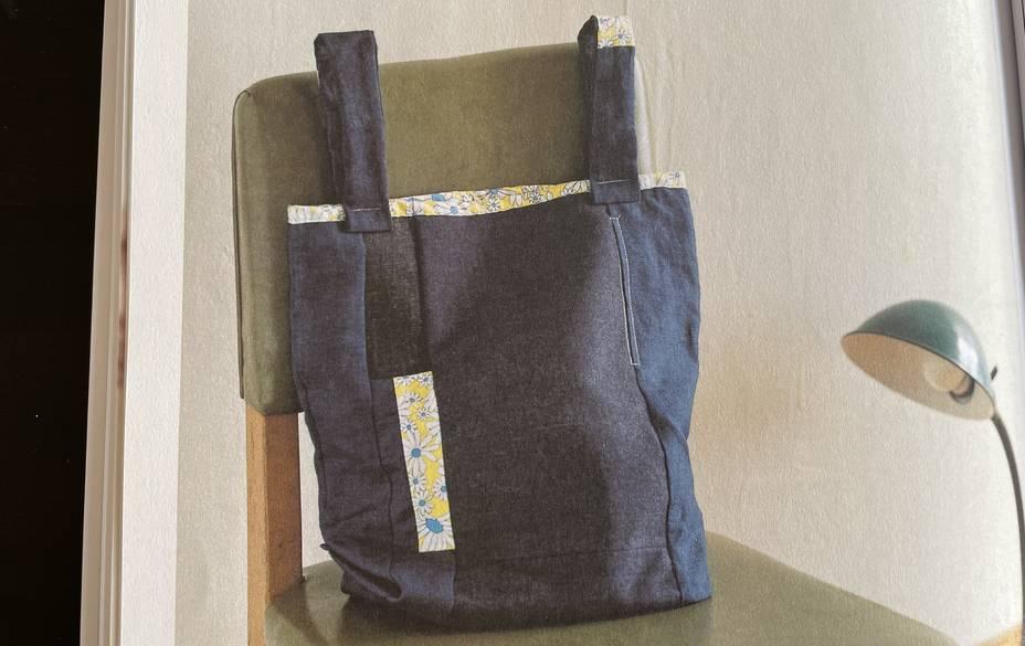 sac reutilisable style patchwork
