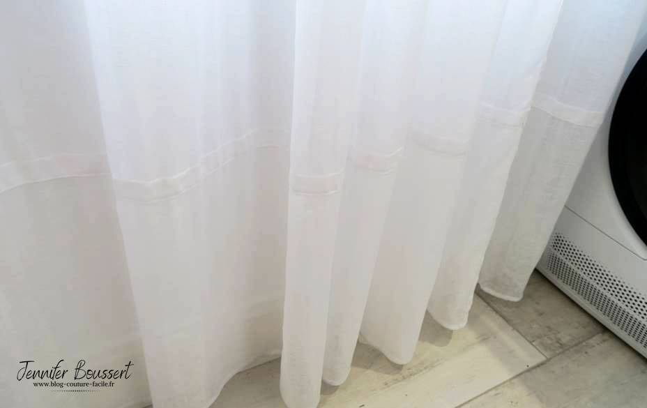 bande horizontale rideaux