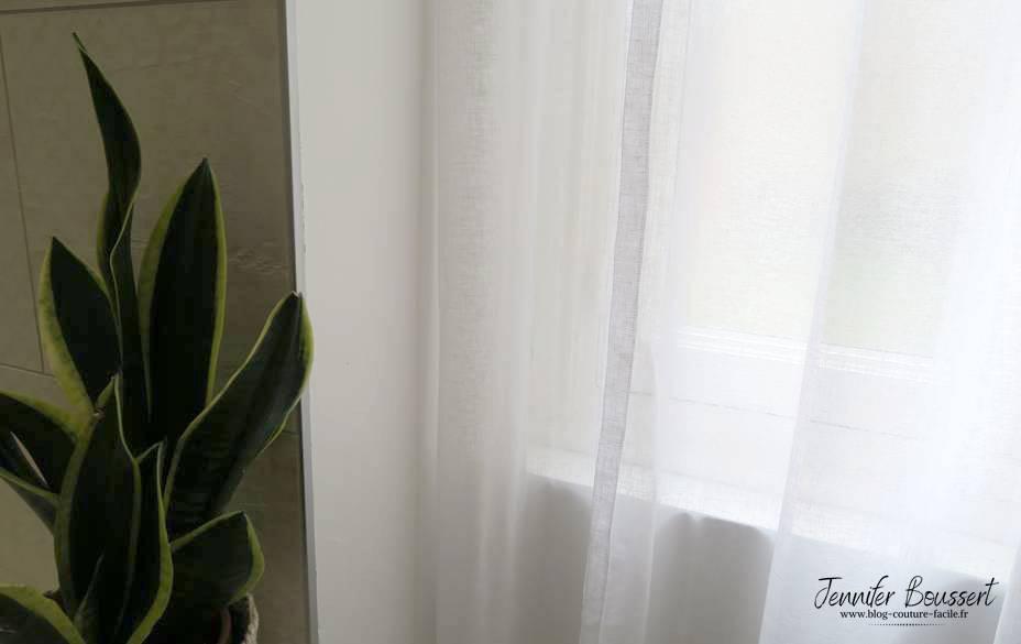 bande verticale rideau