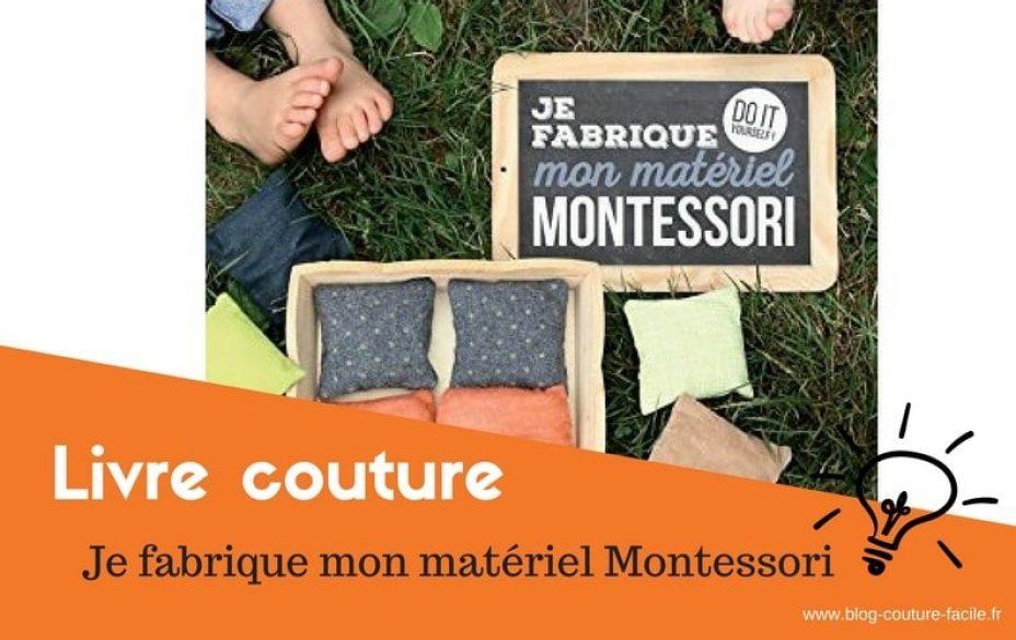 Livre couture Montessori