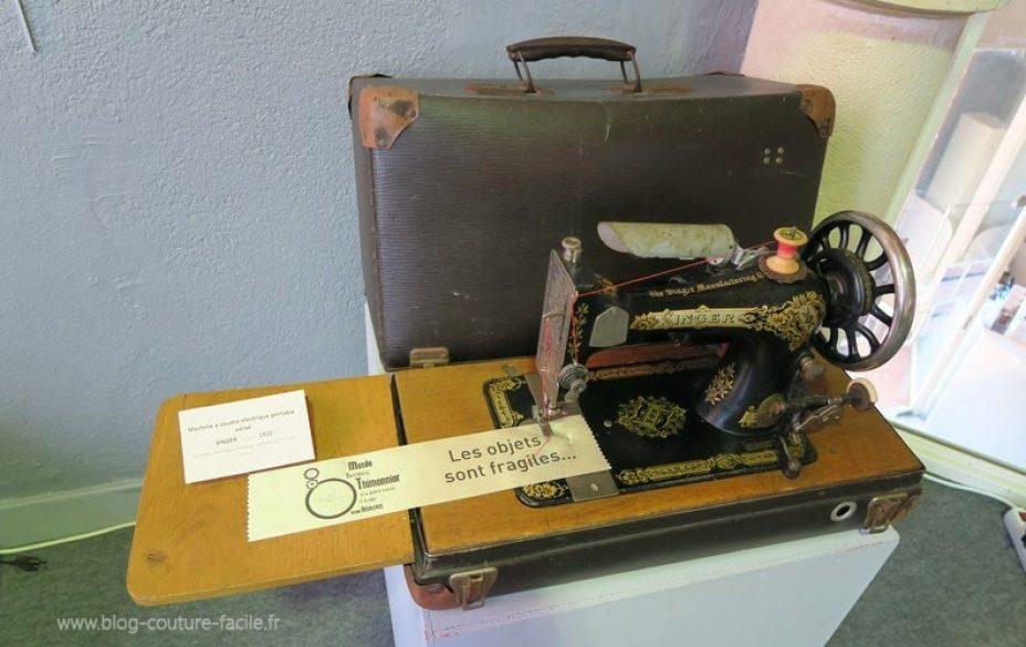 ancienne machine à coudre singer 1910