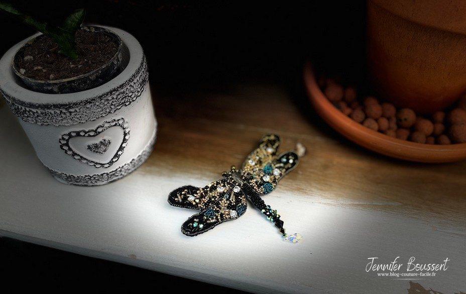 broche libellule