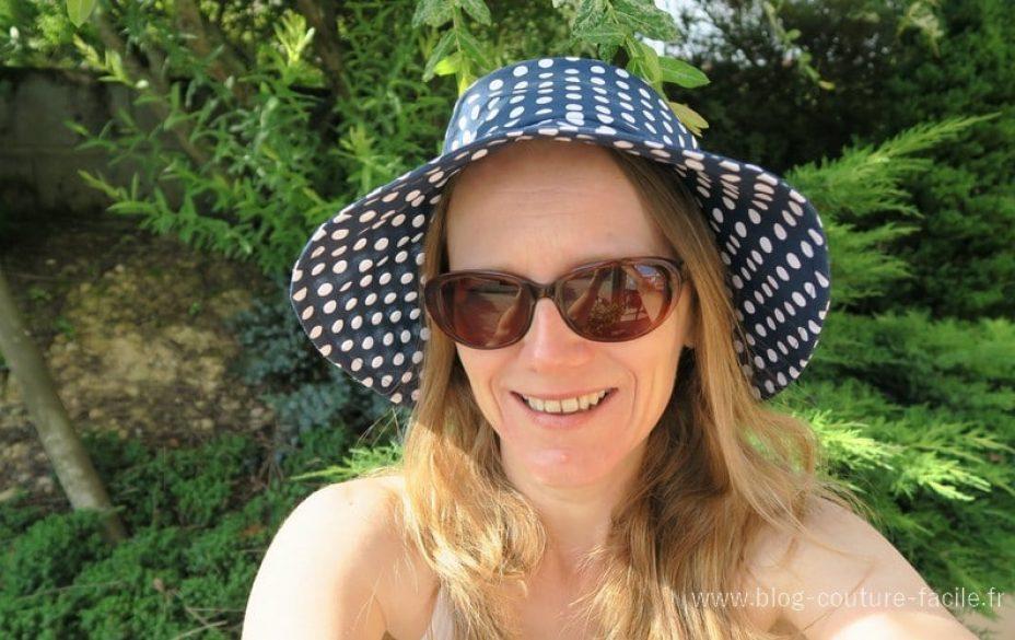 chapeau capeline à coudre