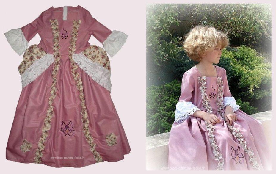 costume-enfant-carnaval-robe-de-marquise