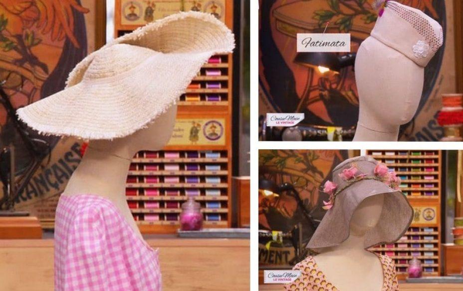 Cousu main 3 customisation chapeau