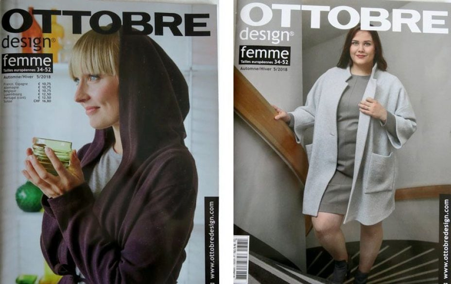 magazine couture femme ottobre hiver 2018