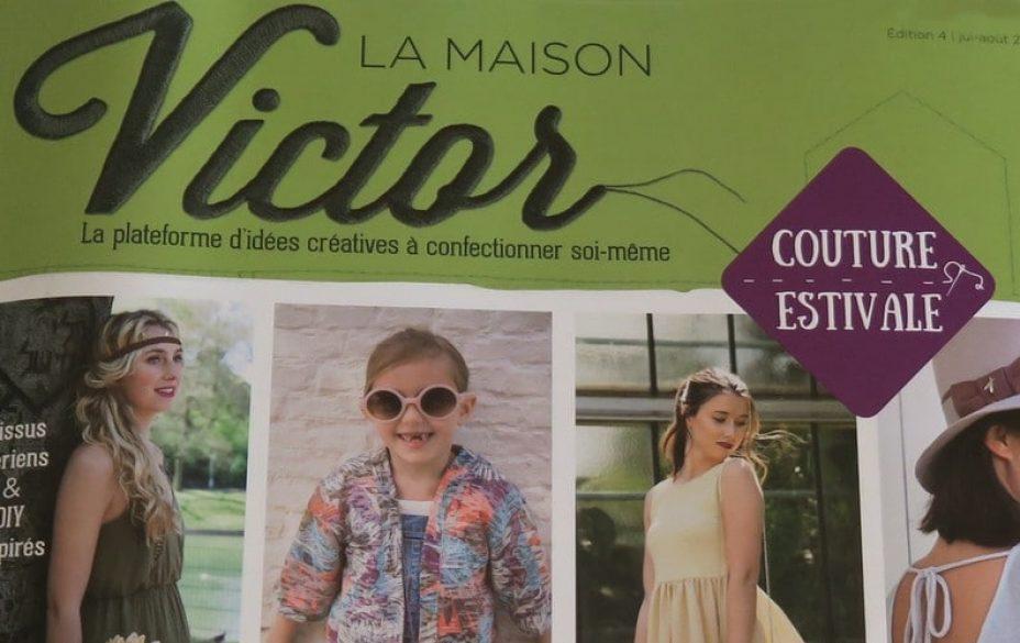 magazine de couture La Maison Victor