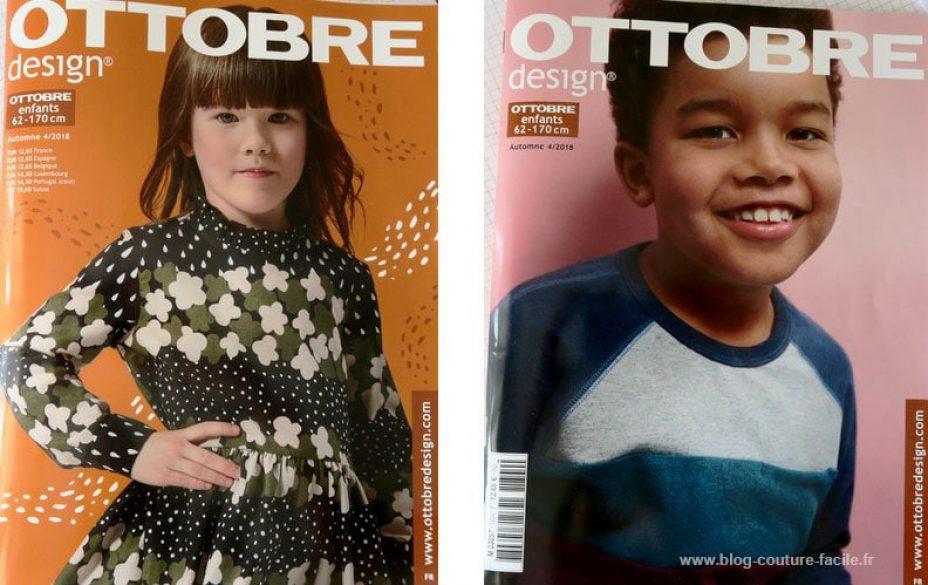 magazine ottobre enfants automne 2018