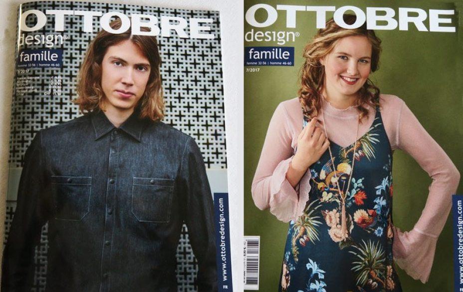 magazine couture ottobre famille 2017
