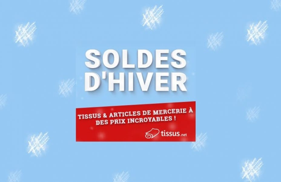 soldes hiver tissus net