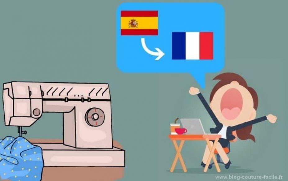 traduction couture espagnol francais